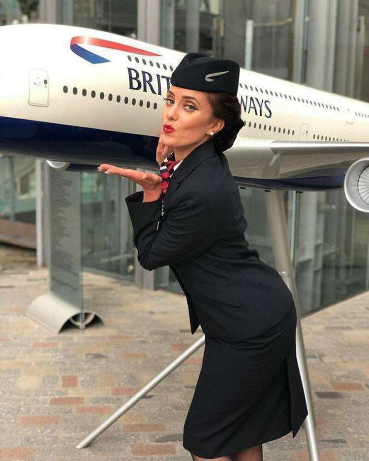 British Airways стюардессы