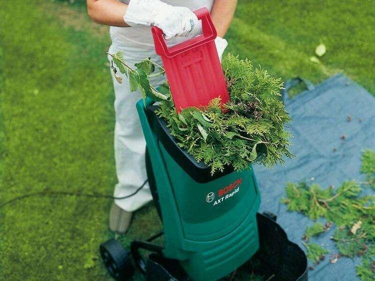Есть ли смысл покупать садовый измельчитель