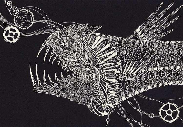 20+ рисунков, вырезанных из бумаги, которые можно перепутать с кружевом