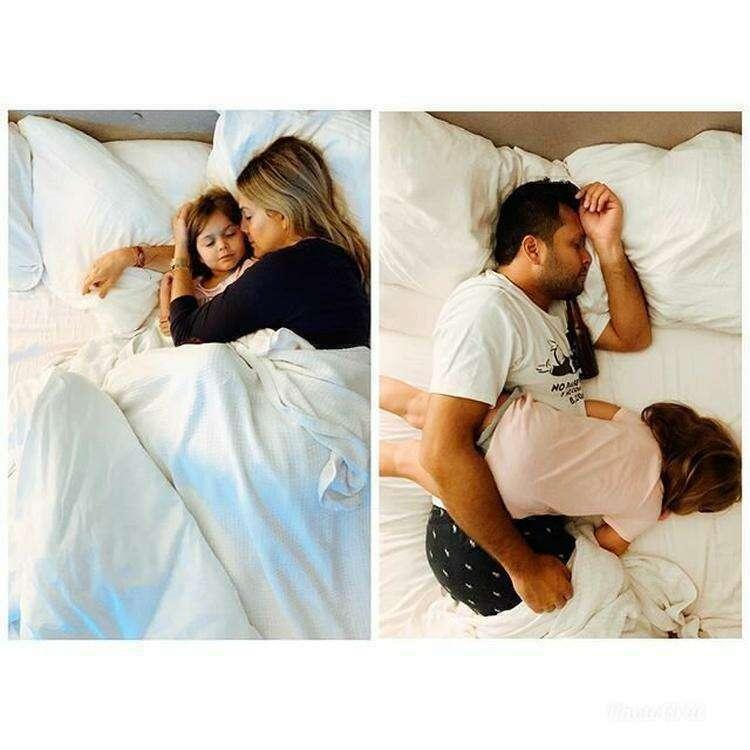 Кто в детстве не любил спать с родителями?