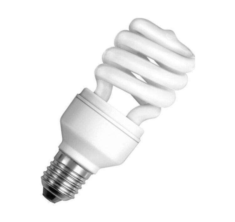 Пример люминесцентной лампы