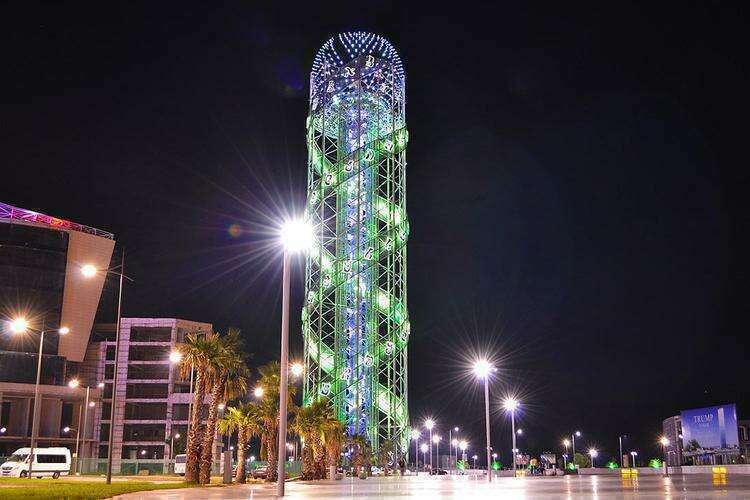 Алфавитная башня