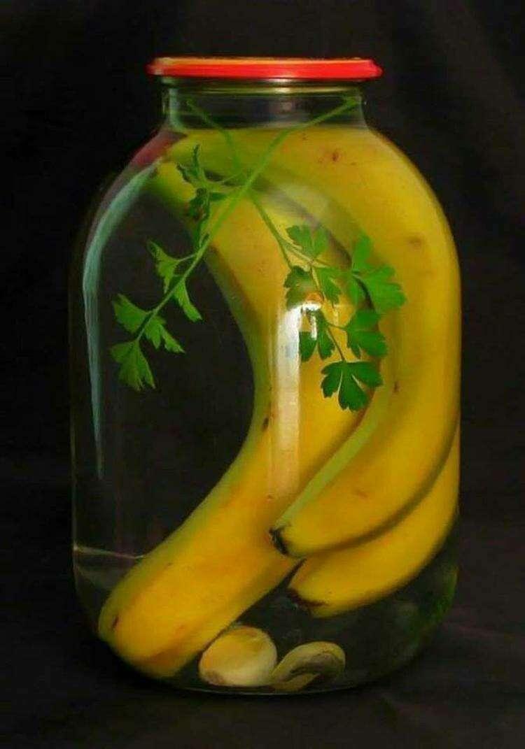 Маринованные бананы