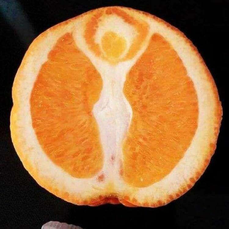 23. Апельсиновая богиня