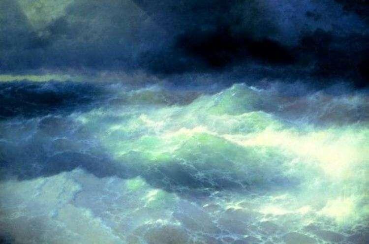 Как появился Девятый вал И. Айвазовского: история одного шедевра