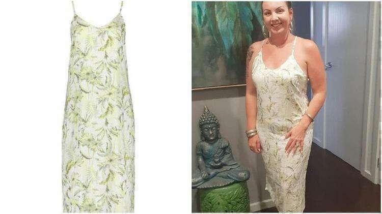 Бережливая мама превратила дешевую ночнушку в элегантное летнее платье - Страница 2 из 2