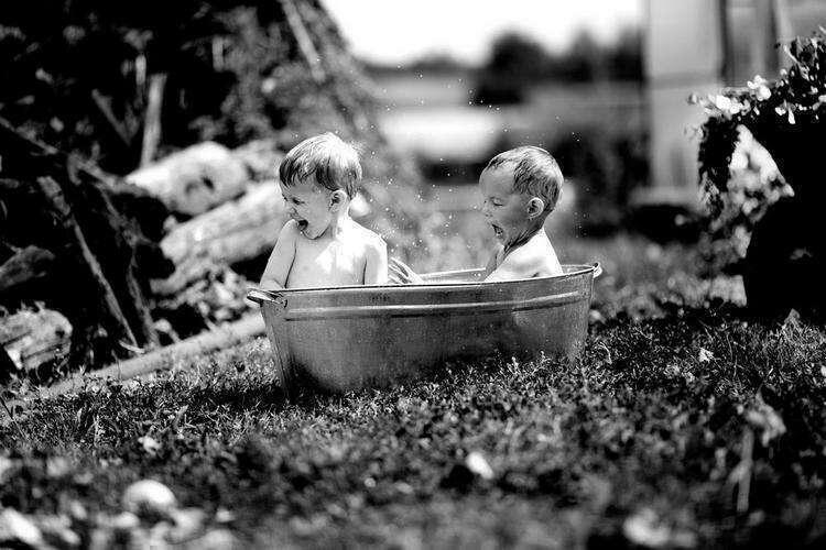 Несколько фото из детства в деревне