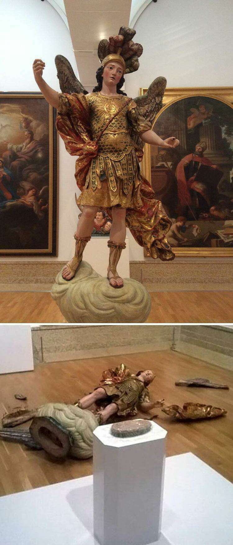 Не пожалели Святого Михаила