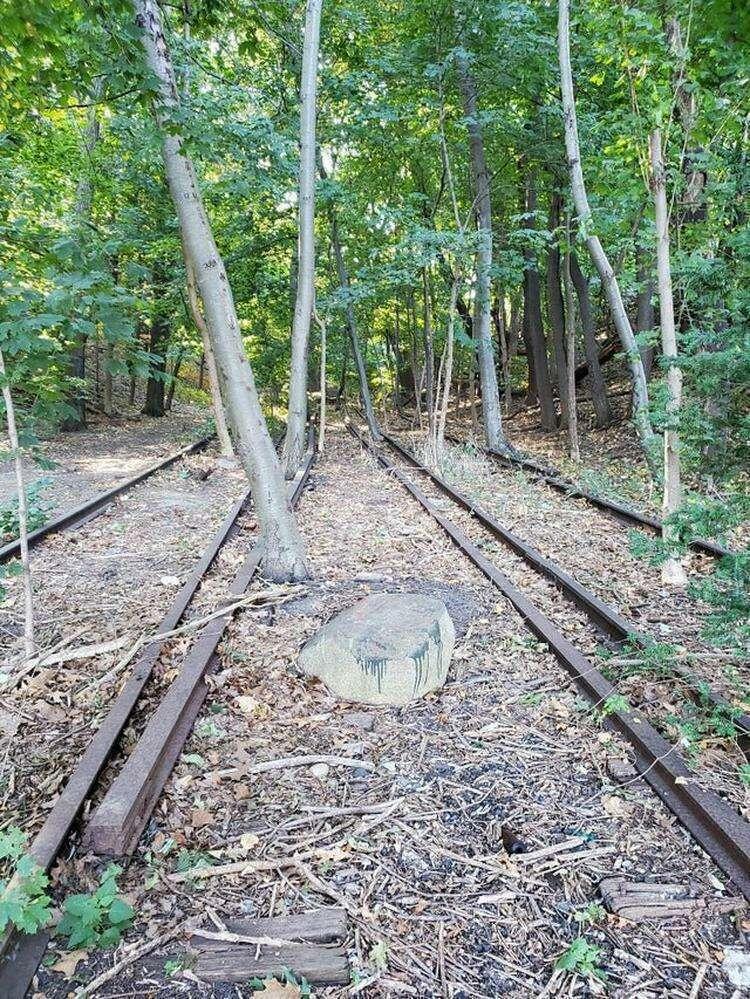 20. Следы старой железной дороги