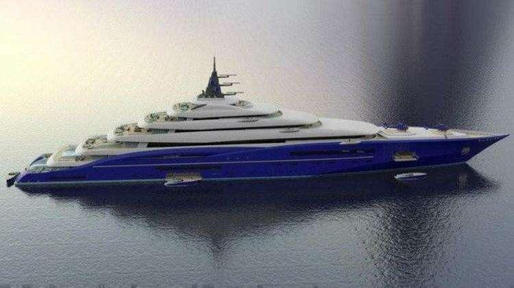 Эксклюзивные и шикарные яхты будущего