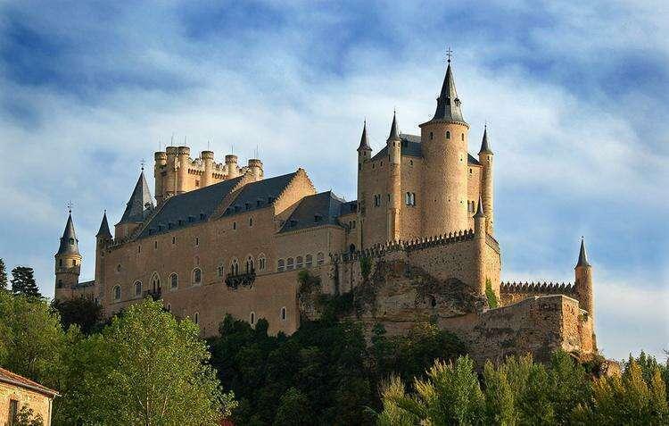 Алькасар в Сеговии, Испания