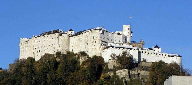 Замок Хоэнзальцбург, Зальцбург, Австрия