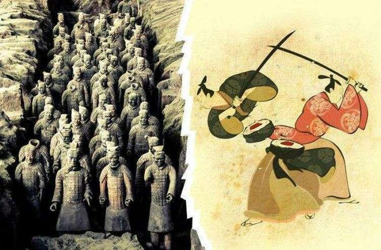 Китай vs Япония