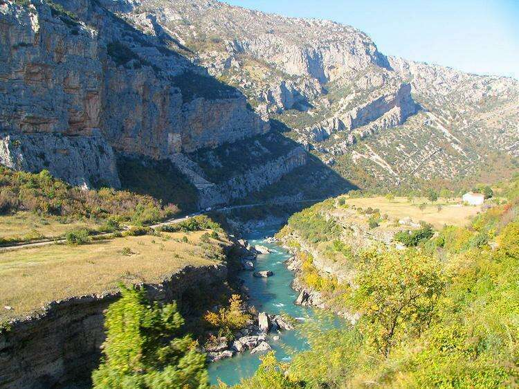Каньоны рек Тара и Морача