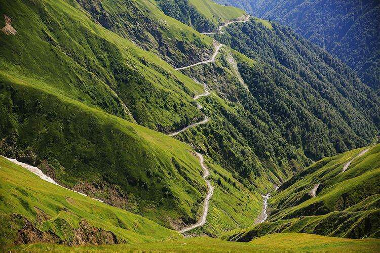 Национальный парк Тушети