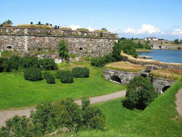 Морская крепость Суоменлинна