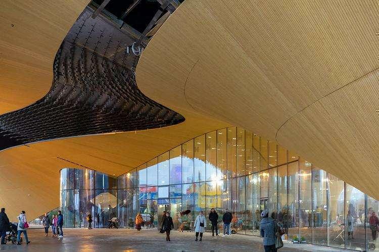 Центральная библиотека Хельсинки «Ооди»