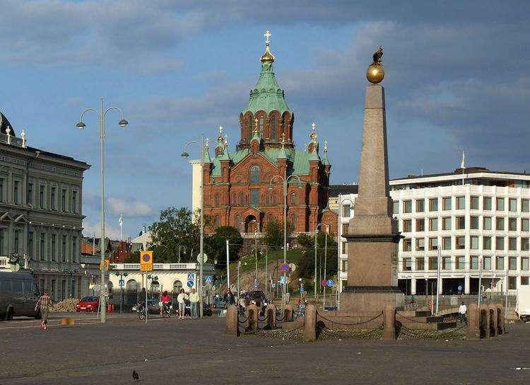 Рыночная площадь Хельсинки