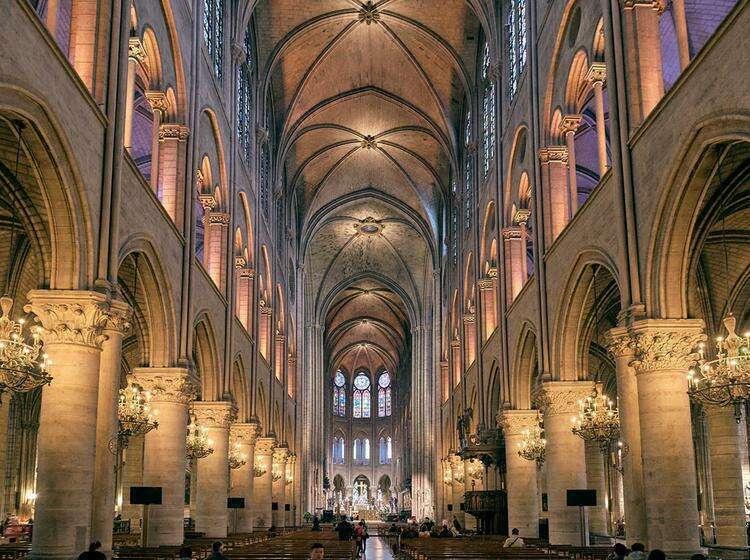 Собор Парижской Богоматери (Нотр Дам де Пари)