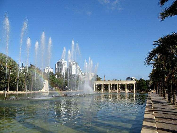 Сады реки Турии