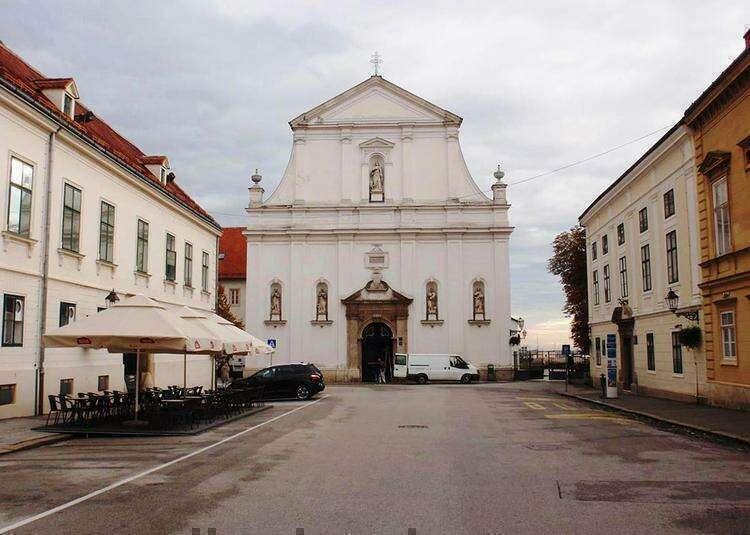 Екатерининская церковь в Загребе