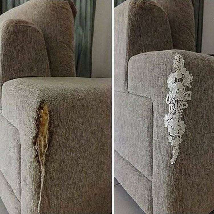6. Как замаскировать диван