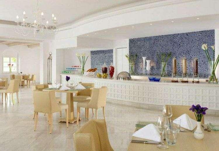 Роскошный отель на острове Миконос в Греции