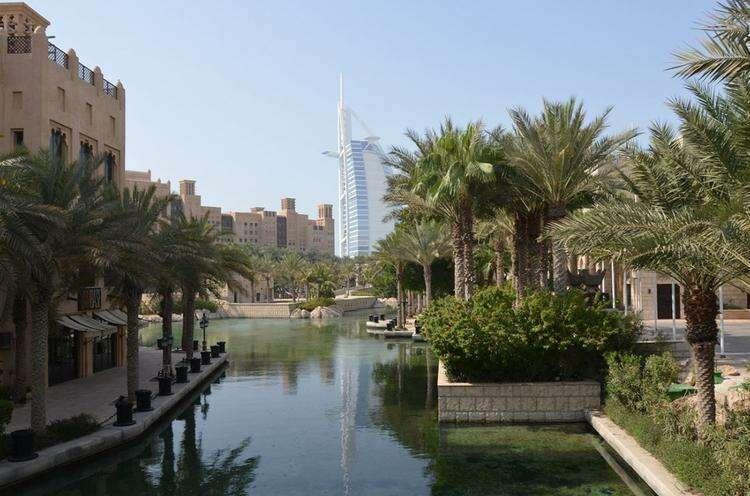 Дубайский водный канал