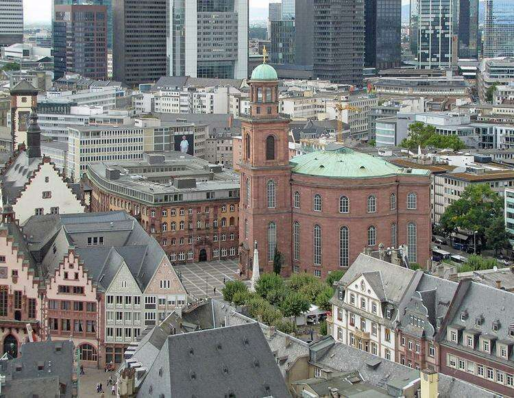 Церковь Святого Павла во Франкфурте