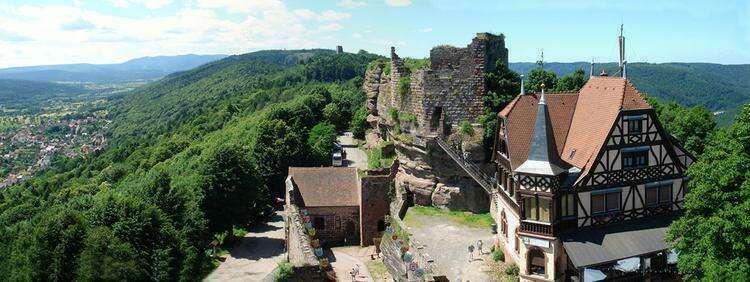 замок Верхний Барр