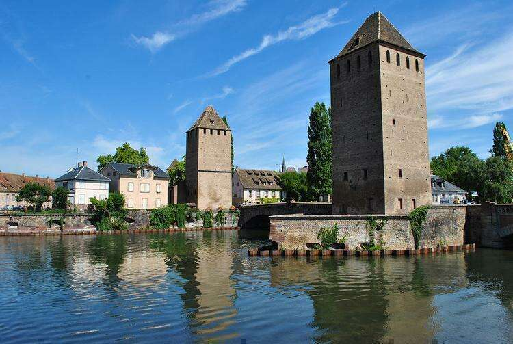 крытые мосты Страсбурга