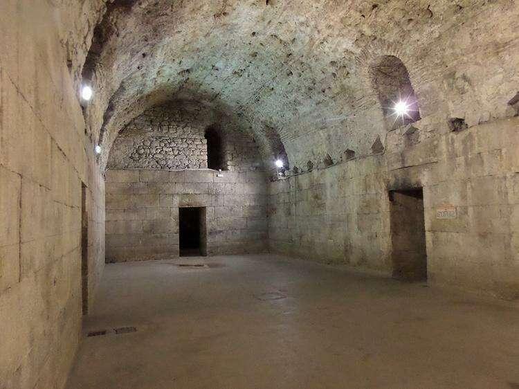 Дворец Диоклетиана в Сплите