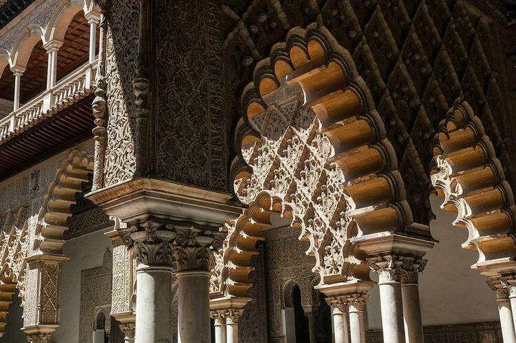 королевский алькасар в Севилье