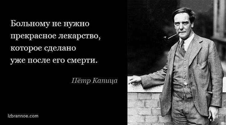 15 цитат Петра Капицы