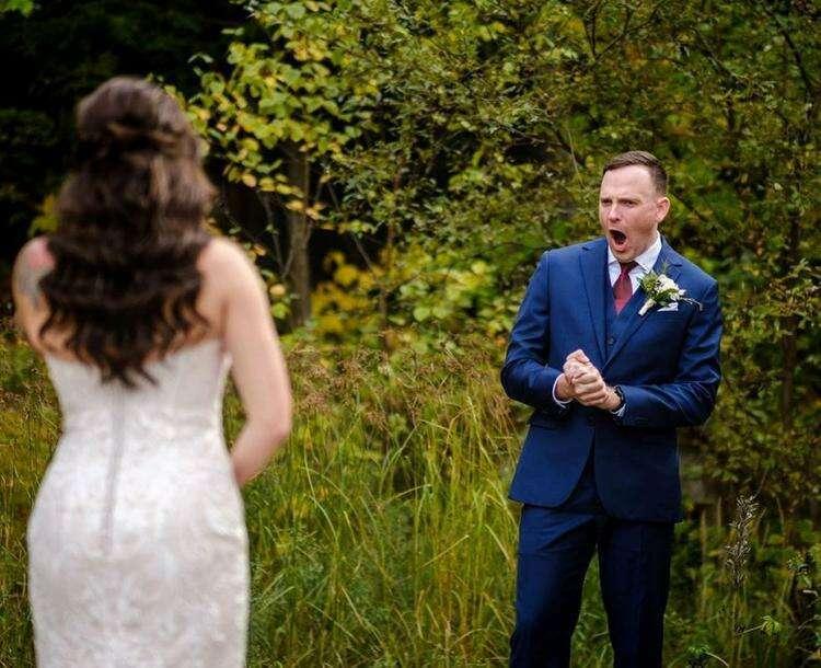 15+ будущих мужей, которые впервые увидели невесту в свадебном платье и не сумели сдержать нахлынувшие эмоции
