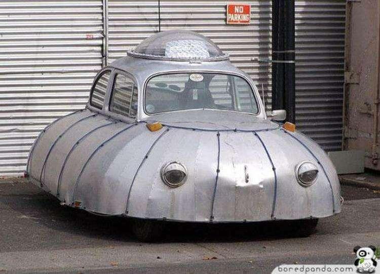 Необычный автомобиль