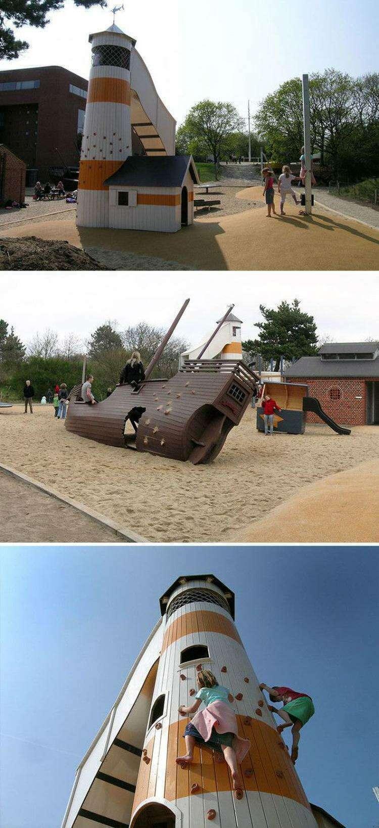 Креативные площадки для детей от датских специалистов