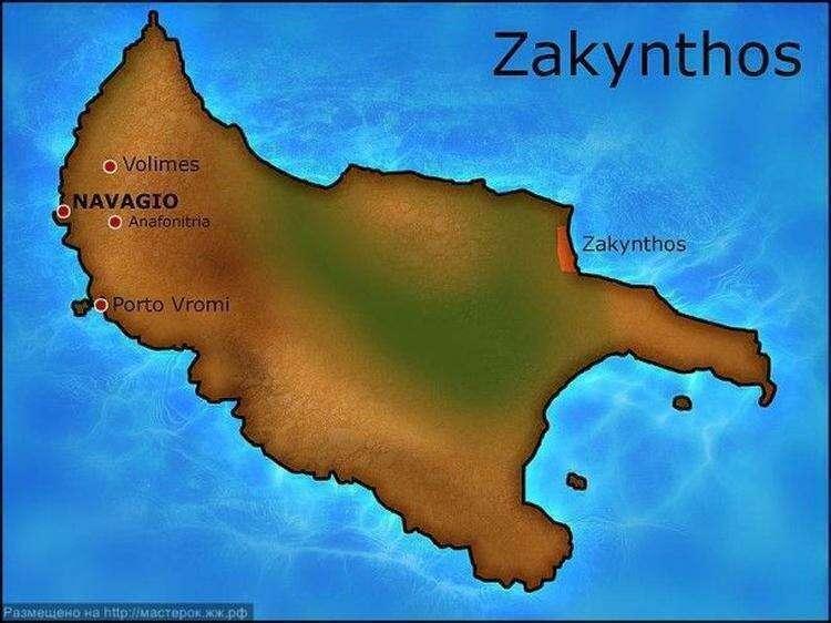 Легенды острова Закинф