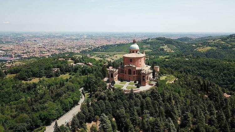 Холмы вокруг Болоньи