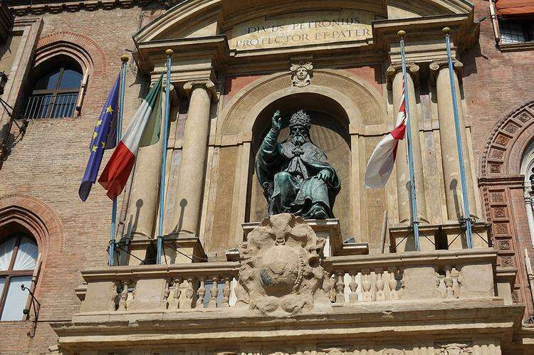 Палаццо Комунале в Болонье