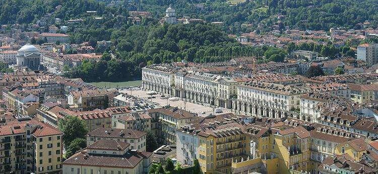 Достопримечательности Турина: Площадь Витторио Венето