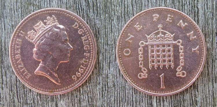 монеты пенни