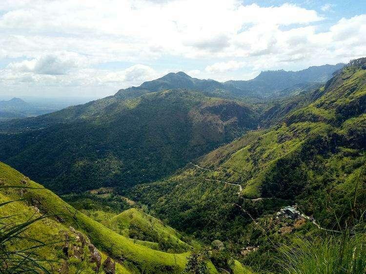 горы Шри-Ланки